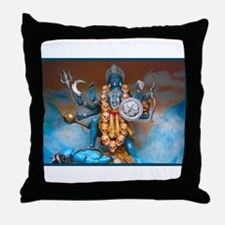 Funny Holy trinity Throw Pillow