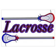 Lacrosse Sticks Poster