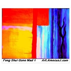 Feng Shui Gone Mad Canvas Art