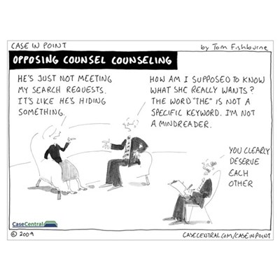 Opposing Counsel Counseling Poster