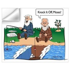 Fishing With Moses Wall Decal