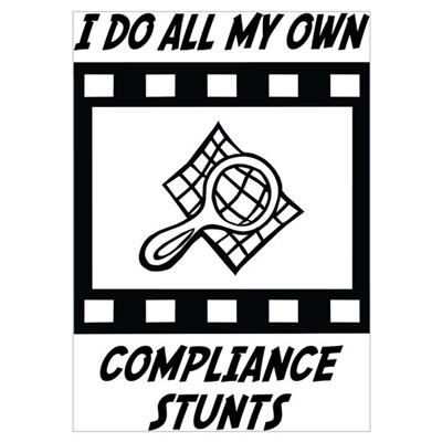 Compliance Stunts Poster