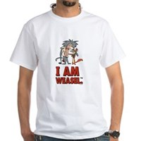 I Am Weasel Friends White T-Shirt