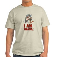 I Am Weasel Friends Light T-Shirt