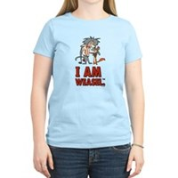 I Am Weasel Friends Women's Light T-Shirt