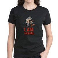 I Am Weasel Friends Women's Dark T-Shirt