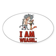 I Am Weasel Friends Decal