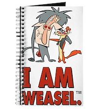 I Am Weasel Friends Journal