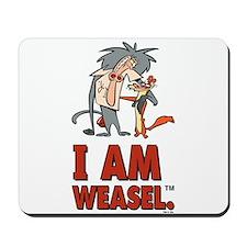 I Am Weasel Friends Mousepad