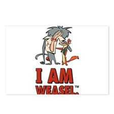 I Am Weasel Friends Postcards (Package of 8)