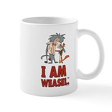I Am Weasel Friends Mug