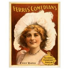 Ferris Comedians Poster