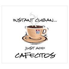 Instant Cuban Poster