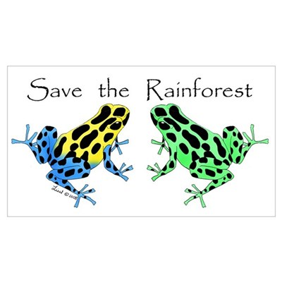 Save the Rainforest Poster
