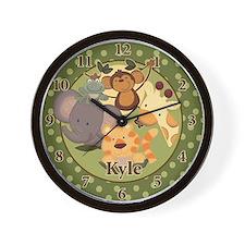 Jungle Safari Wall Clock - Kyle