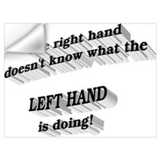 Left hand Wall Decal
