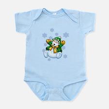 Happy Snowman Infant Bodysuit