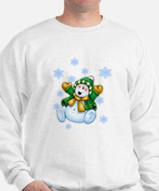 Happy Snowman Sweatshirt
