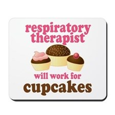 Funny Respiratory Therapist Mousepad