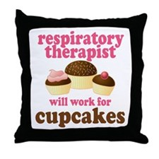 Funny Respiratory Therapist Throw Pillow