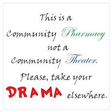 Pharmacy Drama Poster