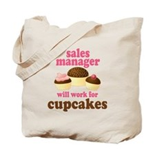 Funny Sales Manager Tote Bag