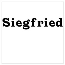 Siegfried Poster