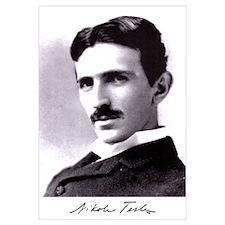 Tesla Portrait 11x17 Print
