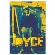 James Joyce Canvas Art