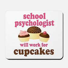 Funny School Psychologist Mousepad