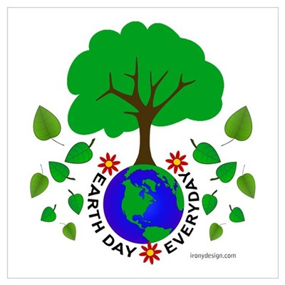 Earth Day Everyday Canvas Art