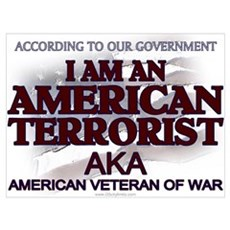 American Terrorist Veteran of Poster