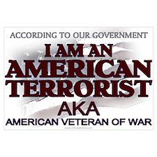 American Terrorist Veteran of