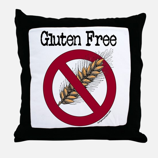 Gluten free Throw Pillow