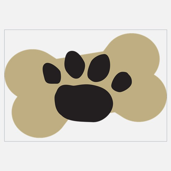 Dog Lover Paw Print