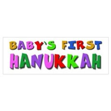 Baby's first Hanukkah Poster