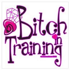 Bitch In Training Poster