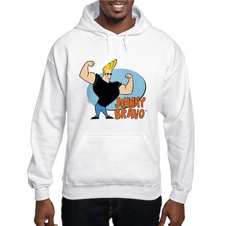 Johnny Bravo Hooded Sweatshirt