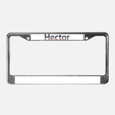 Hector Stars and Stripes License Plate Frame