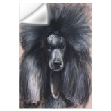 Standard poodle Wall Decals