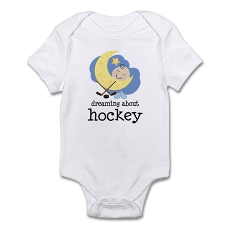 Dreaming About Hockey Infant Bodysuit