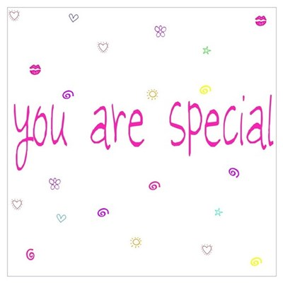 You Are Special Framed Print