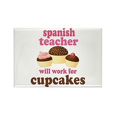 Funny Spanish Teacher Rectangle Magnet
