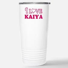 I Love Kaiya Travel Mug
