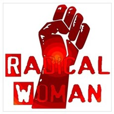 Radical Woman Framed Print