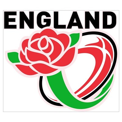 Rugby England Poster