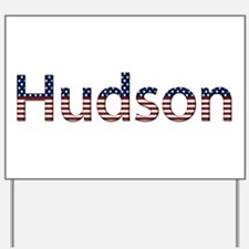 Hudson Stars and Stripes Yard Sign