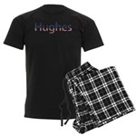 Hughes Stars and Stripes Men's Dark Pajamas