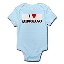 I Love Qingdao Infant Creeper