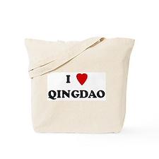 I Love Qingdao Tote Bag